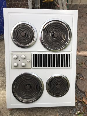Electric cook top coiled