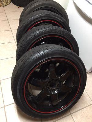"""18"""" Akita Wheels and Tires"""