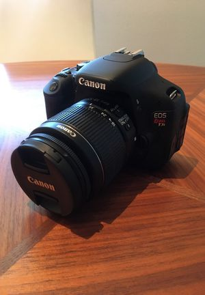 Canon EOS Rebel T3i Camera New (out of the box)