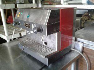 Italian coffe machine.