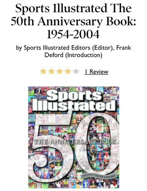 Sports Illustrated 50 Years of Sports Collectors Edition Book