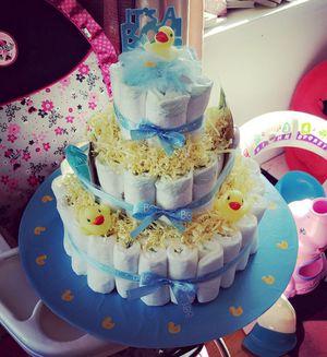 Daiper cake