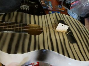Crescent Tiger striped acoustic 6 string