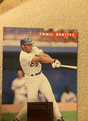 Yamil Benitez Baseball Card