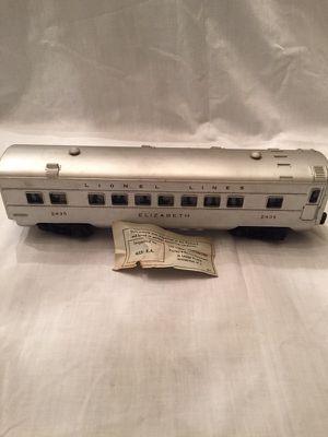 Lionel 2435 Elizabeth Pullman Car