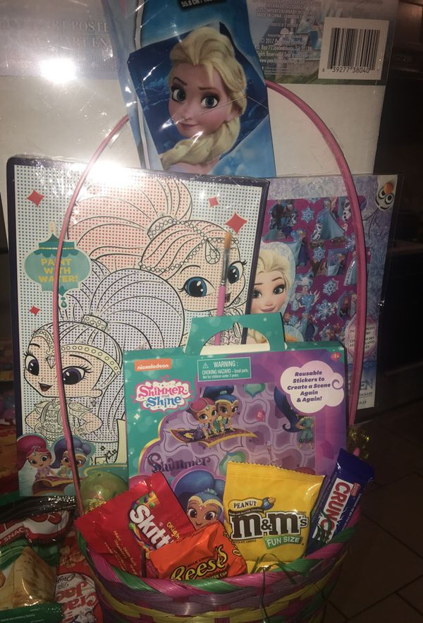 Frozenshimmer and shine easter basket baby kids in san frozenshimmer and shine easter basket baby kids in san bernardino ca offerup negle Image collections