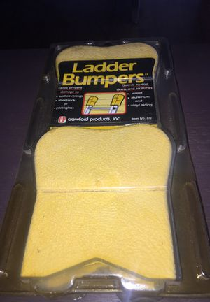 Crawford Ladder Bumpers - Model LG - NEW - Old Stock - for Extension Ladder
