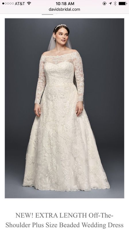 Olea Cassini bridal gown David\'s bridal (Clothing & Shoes) in Chula ...