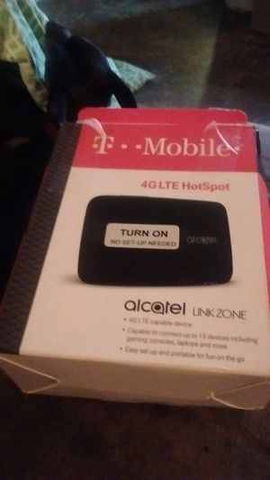 Tmobil internet hotspot box. Brand new. Does not work in my area