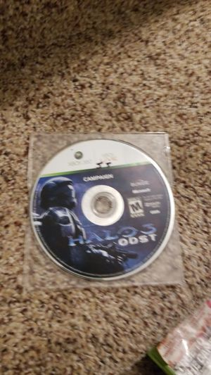 Halo 3 odst xbox 360, used for sale  Tulsa, OK