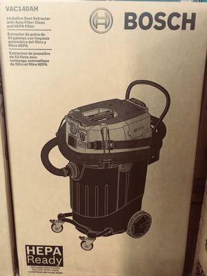 Bosch HEPA vacuum 14 gal dust extractor