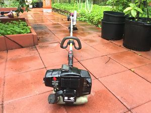 Kawasaki commercial edger, straight shaft. Echo Stihl