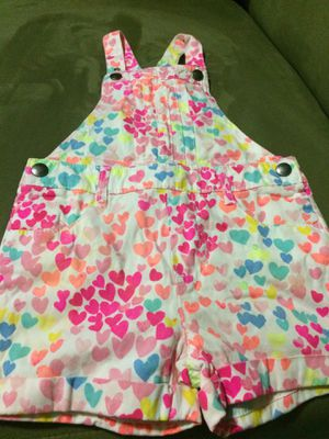 The Children's place brand new with tags size 3t overall shorts