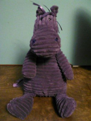 Plush Purple Stuffed Horse from Barnes and Noble