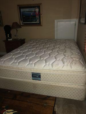 used queen mattress. Queen Mattress \u0026 Box Spring Used