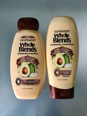 Garnier Whole Blends Shampoo & Conditioner