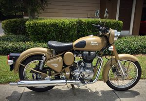 2015 Royal Enfield Bullet 500 Desert Storm Motorcycle