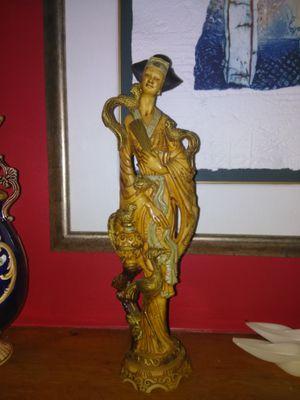 Asian bone ?? Statue