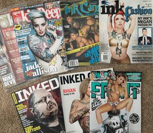 Tattoo Magazines 70+