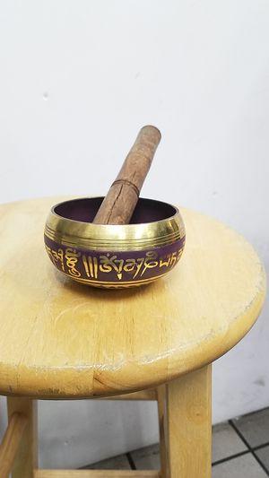 Meditation bowl.
