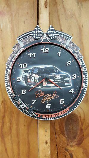 Dale Earnhardt clock