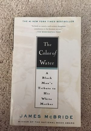 The Color of Water - book
