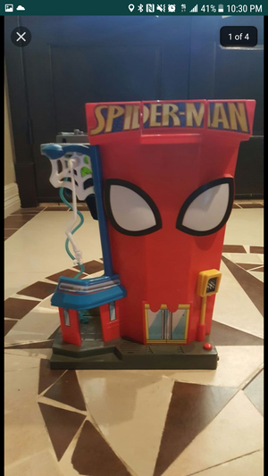 2 Spider fold able play set