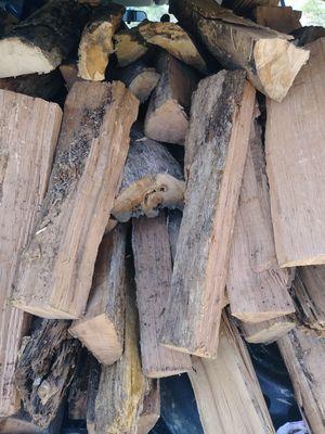 Truckload Extra seasoned oak delivered
