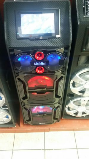 Brand new in box. Professional karaoke dj speaker on sale with built-in wifi wifi and Bluetooth.