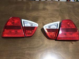 BMW OEM Tail Light Set 2006-08 E90 Sedans 325i 328i-xi