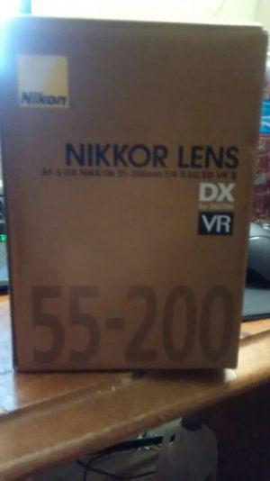 Nikkor lens for camera