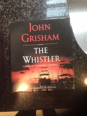 John Grisham & Thomas Perry audio books on CDSs