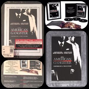 Brand New American Gangster 3 DVDS Unrated Edition