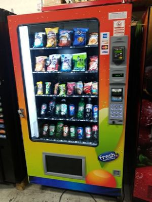 Ams visi combo vending machine fully working best deal
