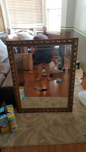 Beautiful large mirror. No flaws