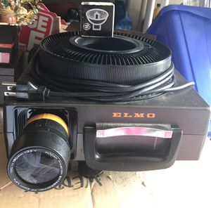 Great ELMO 35mm slide projector works like new