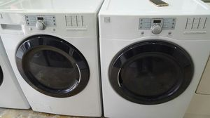 Washer and Dryer Kenmore Front load