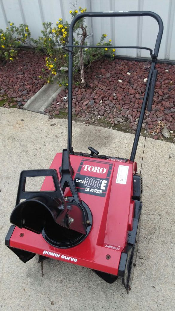 For sale a ccr 1000 toro snow blower home garden in elgin il for sale a ccr 1000 toro snow blower sciox Image collections