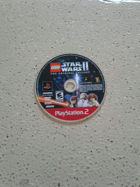 Lego Star Wars 2 The Original Trilogy Play Station