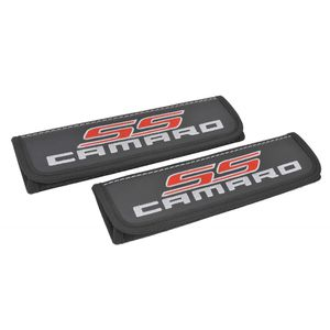 Chevy Camaro SS seat belt covers shoulder pads Interior accessories with emblem