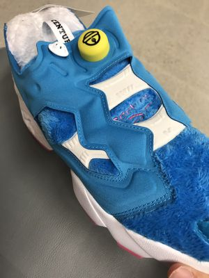 Packer Shoes X Atmos Reebok instapump COLLAB