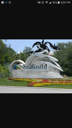 Sea World or Aquatica tickets