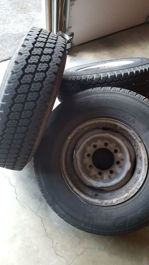 235/85r16 e load with 8x6.5 wheels