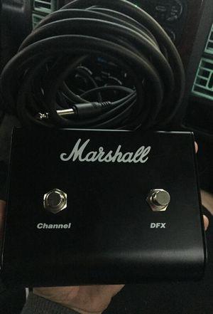 Marshall guitar pedal