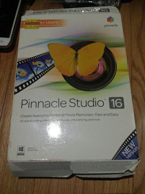 Pinnacle 16 video Editor software