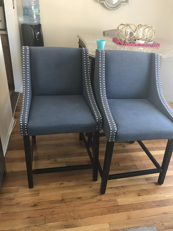 Two Dining Room Chairs In Good Condition