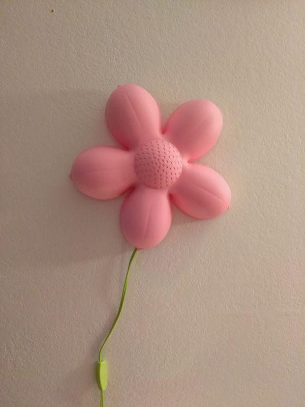 Pink flower wall light baby kids in kennedale tx offerup pink flower wall light aloadofball Images