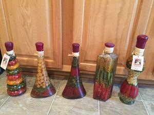 Decoration Vinegar Bottles