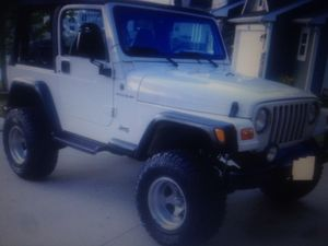 Urgent SALE TODAY I CAN'T SEE THE MESSAGE IN CHAT 2000 Jeep Wrangler If you are really interested email me at: AnnaCarey76{@}gmail.com $1000