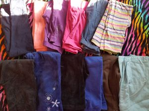 Girls Size 5 or 5/6 leggings pants and jeans lot